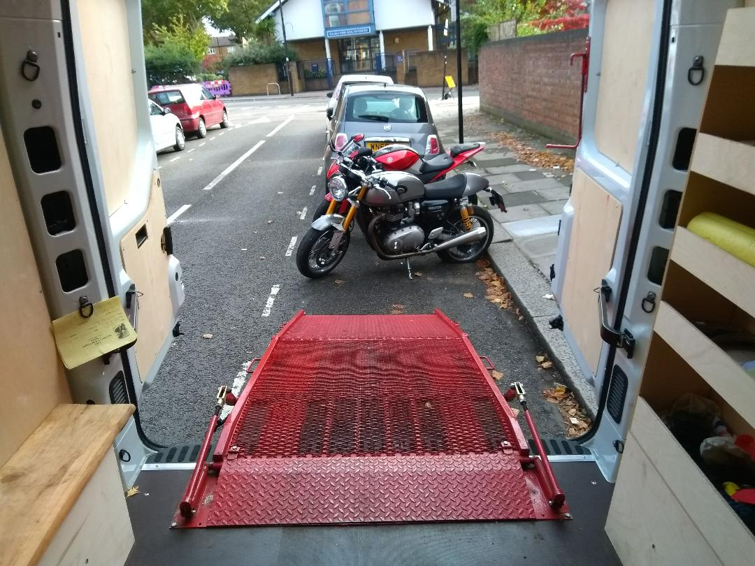 Loading ramp   LBT Motorcycle Recovery   London 020 7228 0800