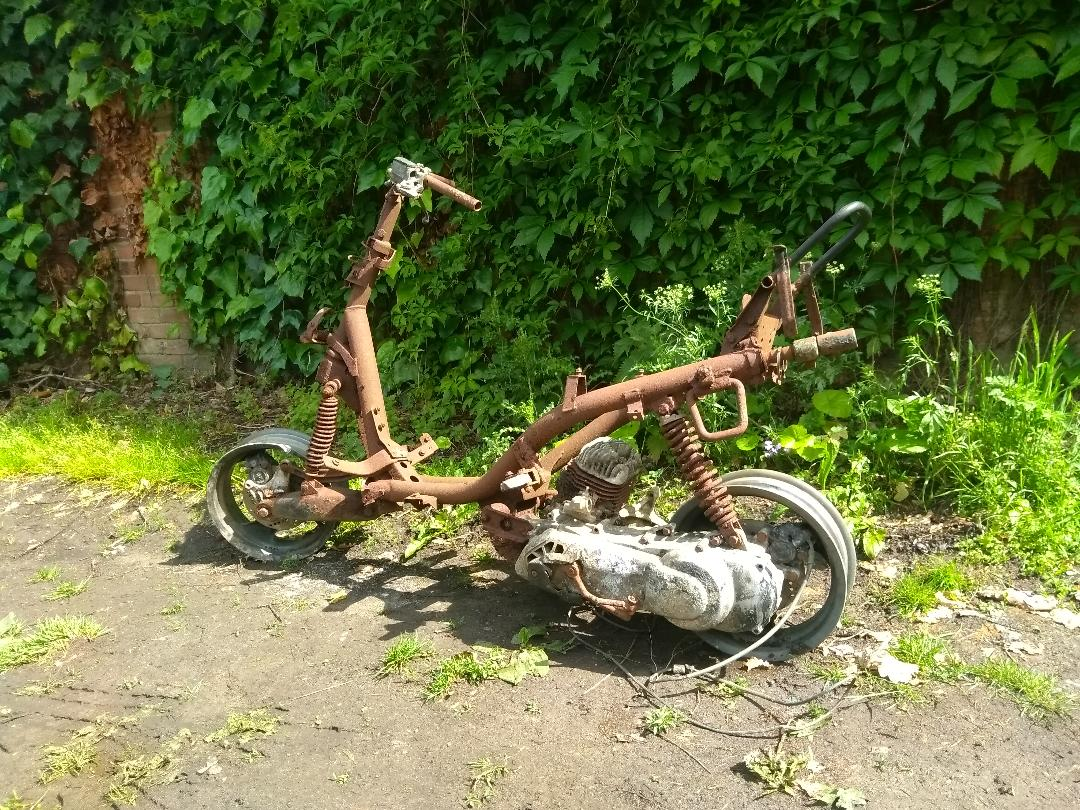 Burned out bike found London   LBT Motorcycle Recovery   London 020 7228 0800