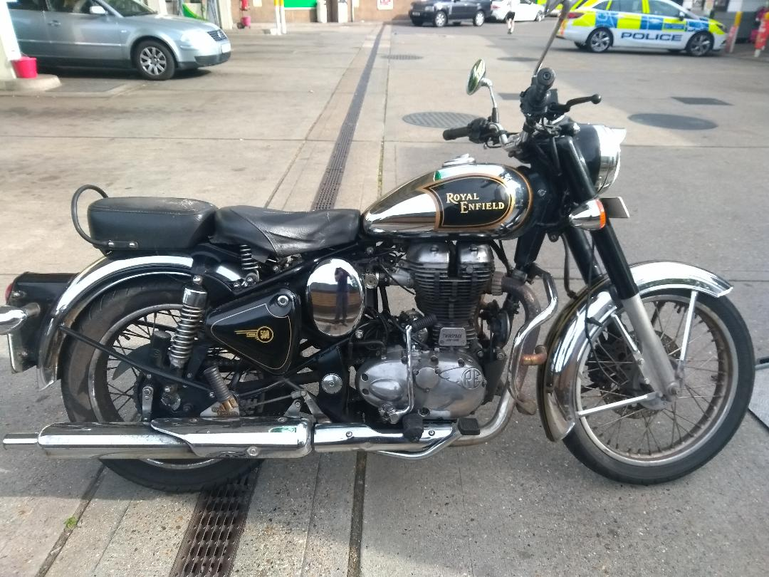 Royal Enfield  | LBT Motorcycle Recovery | London 020 7228 0800
