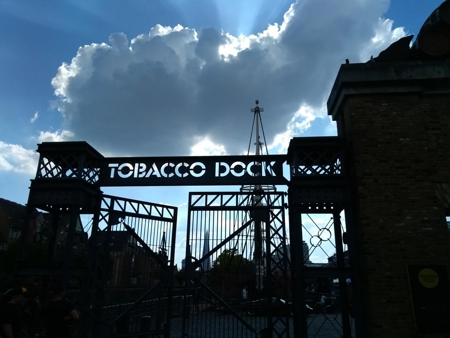 Tobacco Dock | LBT Motorcycle Recovery | London 020 7228 0800