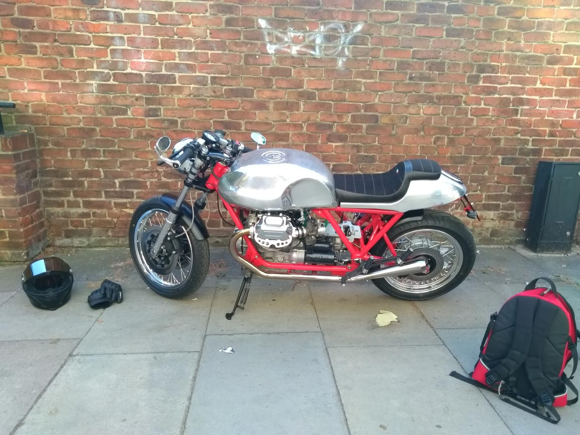 Cafe racer | LBT Motorcycle Recovery | London 020 7228 0800