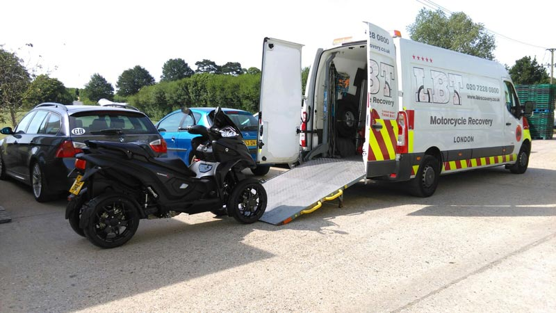 MP4   LBT Motorcycle Recovery   London