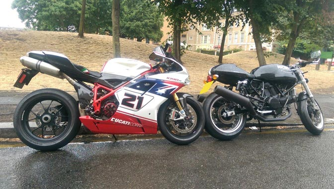 Multiple pick ups   LBT Motorcycle Recovery   London