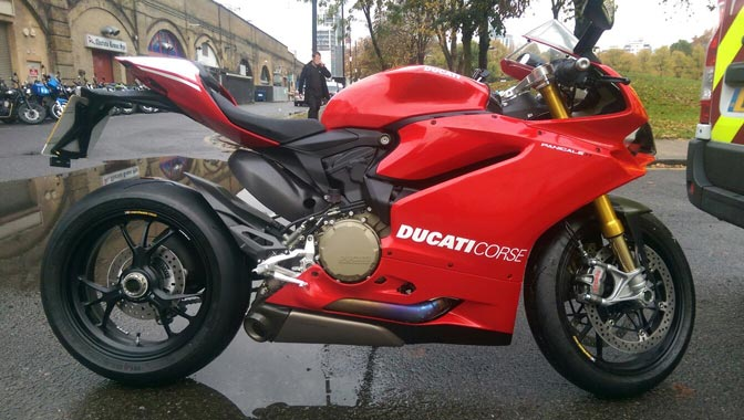 Ducati Panegali | LBT Motorcycle Recovery | London