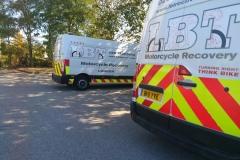 Fleet vans rear  | LBT Motorcycle Recovery | London 020 7228 0800