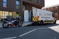 Black bike | LBT Motorcycle Recovery | London 020 7228 0800