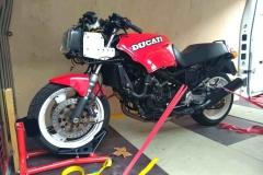 Red ducati  | LBT Motorcycle Recovery
