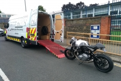 Norton Commando 2  | LBT Motorcycle Recovery | London 020 7228 0800