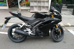 Black Yamaha RS125  | LBT Motorcycle Recovery | London 020 7228 0800