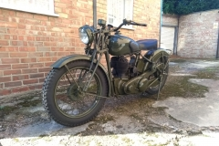 WWII Enfield  | LBT Motorcycle Recovery | London 020 7228 0800
