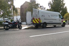 Speed triple | LBT Motorcycle Recovery | London