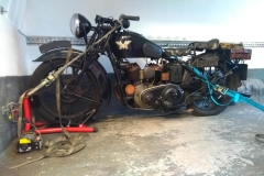 Large black bike  | LBT Motorcycle Recovery
