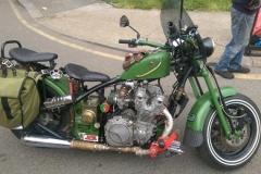Vintage green bike | LBT Motorcycle Recovery | London