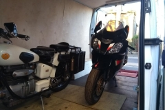 Two bikes safely on board | LBT Motorcycle Recovery