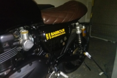 Barbour branded bike   LBT Motorcycle Recovery