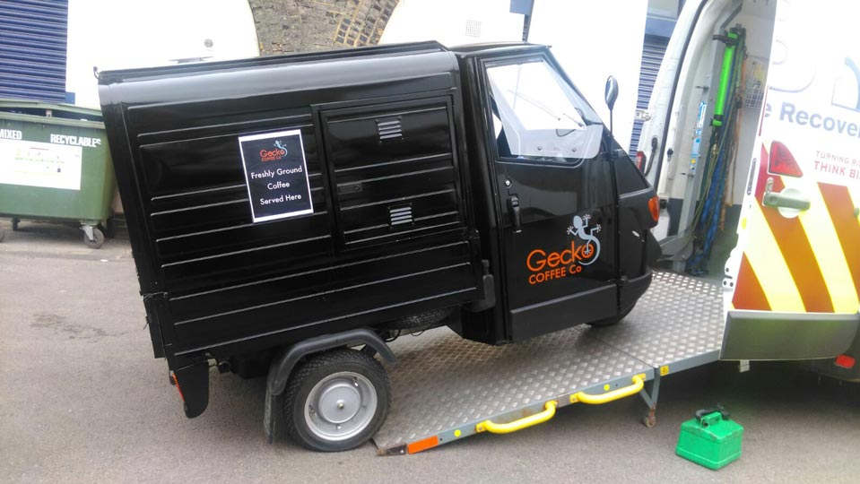Tuk Tuk collection   LBT Motorcycle Recovery   London